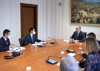 Президентът обсъди създаването на българо-китайски център за иновации