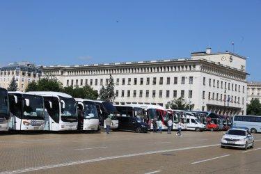 Грант от 30 млн. лв. за протестиращите автобусни превозвачи