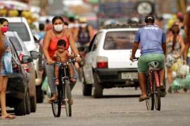 Над един милиона случая на коронавирус в Латинска Америка, половината – в Бразилия
