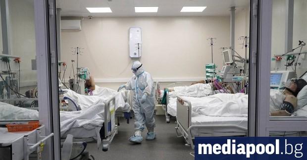 Русия съобщи за нови 8 855 случая на заразяване с