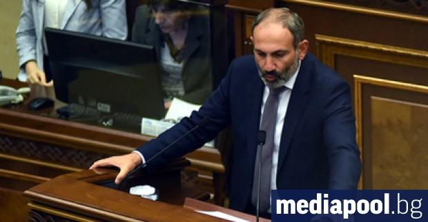 Премиерът на Армения Никол Пашинян съобщи, че е дал положителна