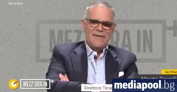 Известен италиански лекар, специалист по оказване на спешна помощ, заяви,
