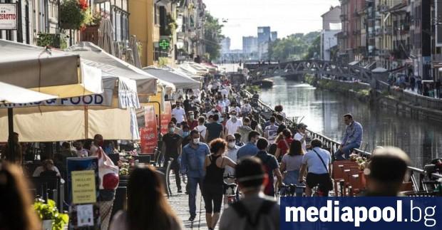 Италия отново отвори днес границите си за посетители от останалата