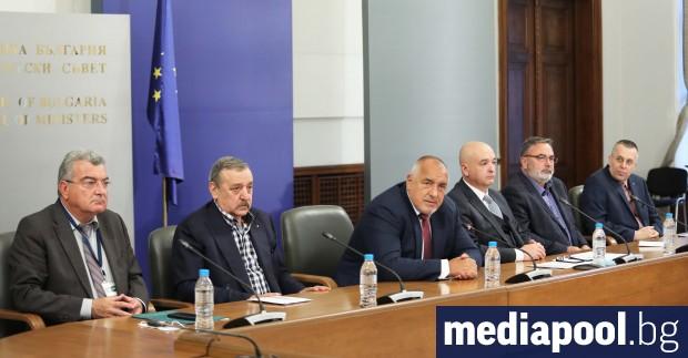 One hundred days after its establishment, today PM Boyko Borissov
