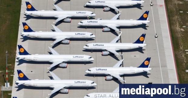 Германската авиокомпания Луфтханза (Lufthansa) разширява разписанието си за юни с