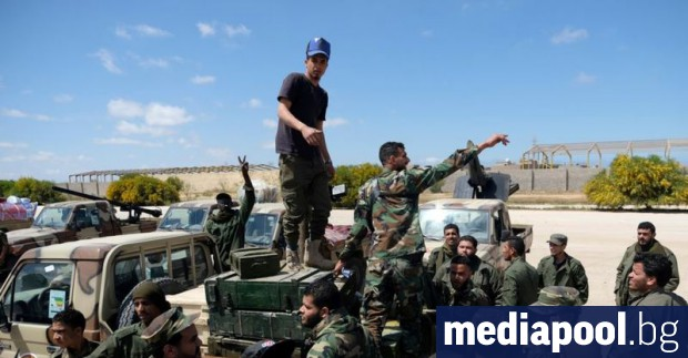 Силите на правителството на националното съгласие в Либия съобщиха днес,