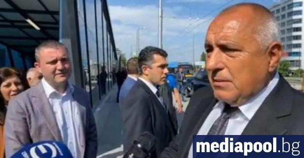 Премиерът Бойко Борисов и финансовият министър Владислав Горанов за пореден