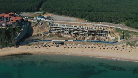 """Пред """"подпорната стена"""" на плажа Алепу ще изникне курортно селище"""