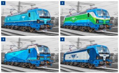 С онлайн гласуване БДЖ избира визията на новите локомотиви