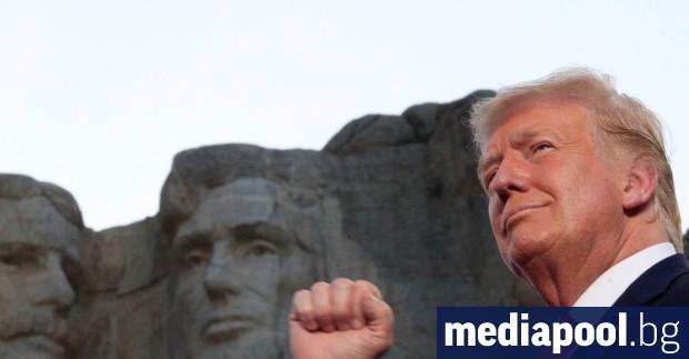 Президентът на САЩ Доналд Тръмп произнесе страстна реч по случай