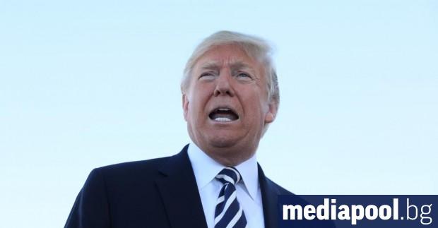 Президентът на САЩ Доналд Тръмп защити покойния си идол, актьора
