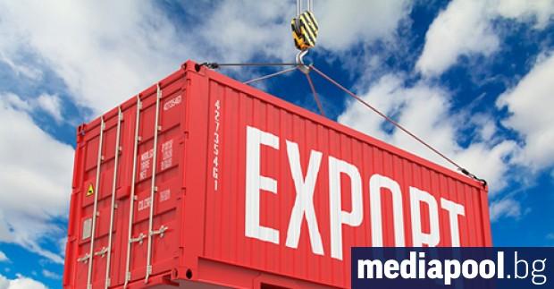 Българският износ е намалял с над една пета (21.4%) през