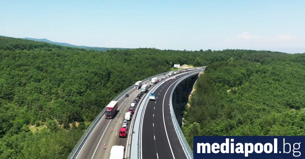 Ремонтът на магистрала