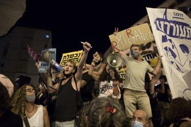 Хиляди протестираха срещу израелския премиер Нетаняху