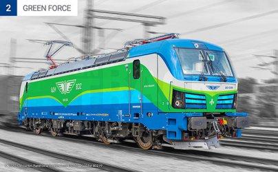 Новите локомотиви на БДЖ ще са с ековизия