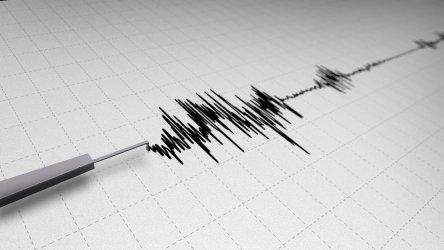 Слабо земетресение е регистрирано край София