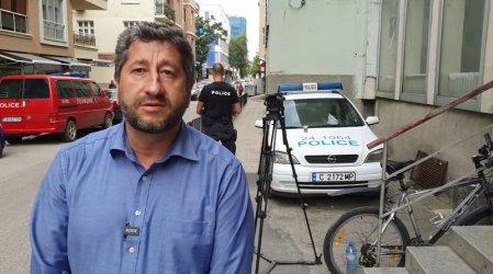 МВР разпитва Христо Иванов за петно боя върху Съдебната палата