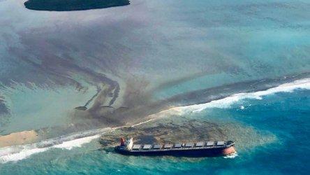 Екокатастрофа заради петролен разлив край бреговете на Мавриций