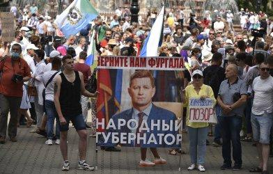 Втора седмица масови протести в Далечния изток, заради арест на руски губернатор