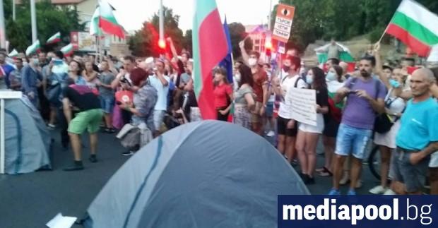 """В 29-я ден от началото на протестите срещу кабинета """"Борисов"""