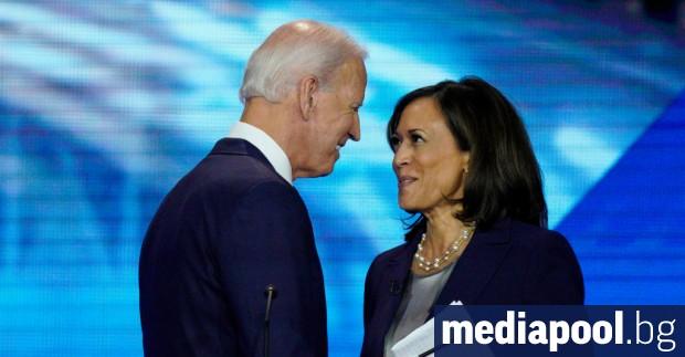 Кандидатът на демократите за президент Джо Байдън избра за свой