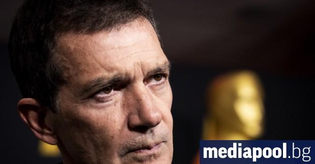 Испанският актьор и звезда от редица холивудски филми Антонио Бандерас