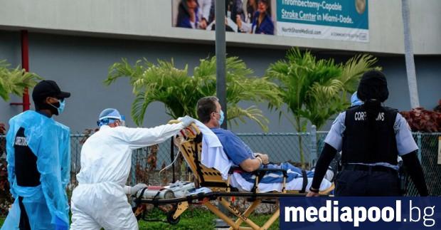 САЩ регистрираха вчера за трети пореден ден над 1100 починали