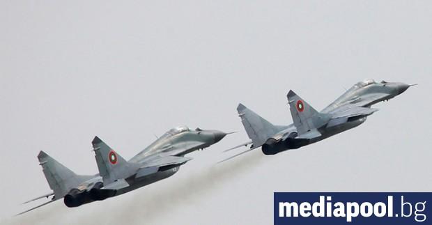 Български изтребители МиГ 29 отново са били вдигнати във въздуха
