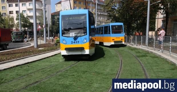 Озеленяването на трамвай №5 е довел до увеличаване на прогнозната