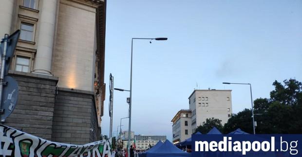 Протестът с искания за оставките на правителството на ГЕРБ и
