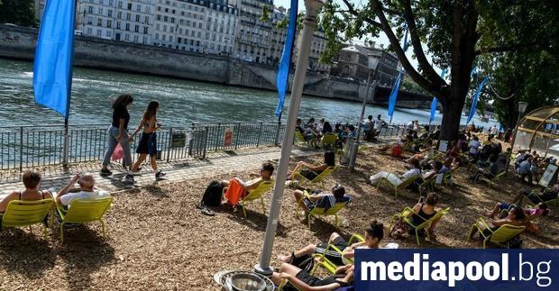 Предпазни маски трябва да се носят на открито в Париж