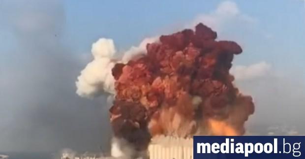 Ливан е в траур след огромната експлозия на пристанището в