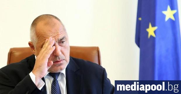 Премиерът Бойко Борисов обяви, че е готов да подаде оставката,