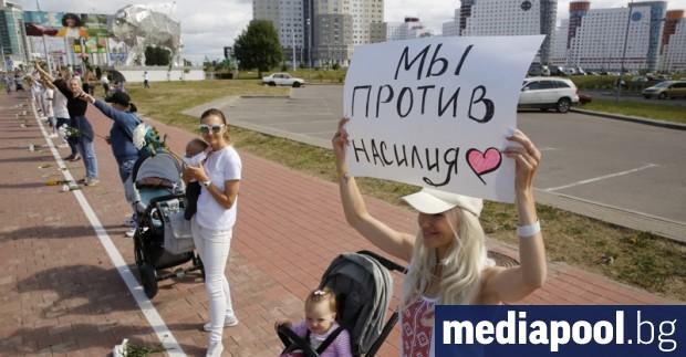 Още един от протестиращите в Беларус е починал при полицейско