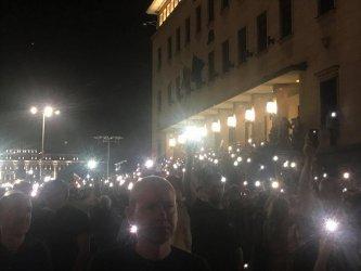 Вечерта Великото народно въстание 2 събра отново хиляди