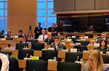 Радан Кънев и Елена Йончева правят дебат в Европарламента за кризата в България