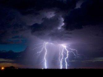 Жълт код за гръмотевични бури в 13 области
