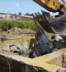 """Общо 210 т са изровените опасни отпадъци по """"Боклукгейт"""" край с. Рупци"""