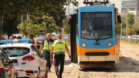 Жена загина, блъсната от трамвай №5