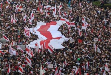 Над 100 000 души протестират отново в Минск