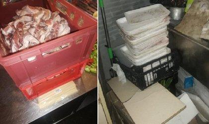 Агенцията по храните окончателно спря заведение с 200 килограма опасни храни