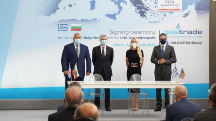 България купува 20% от терминала за втечнен газ до Александруполис