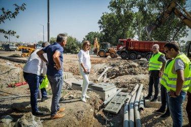 """До 15 септември ще бъде възстановено движението по бул. """"Монтевидео"""""""