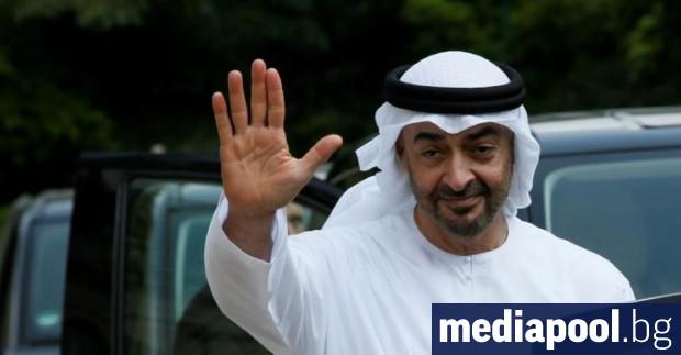 Престолонаследникът на Абу Даби шейх Мохамед бин Зайед Ал Нахаян,