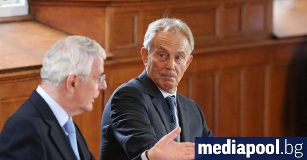 Двама бивши премиери на Великобритания, изиграли ключова роля в постигането
