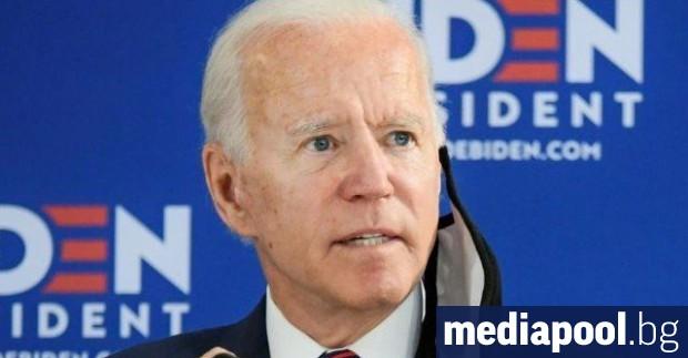 Кандидатът за президентската номинация на американската Демократическа партия Джо Байдън