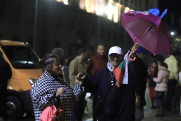 Ден 80: Дъждът не спря протеста