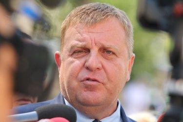 Каракачанов призова Борисов за формиране на експертно правителство