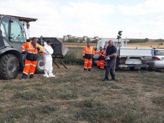Започва почистването на още един склад със стари пестициди