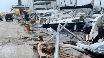 Циклонът Янос взе първа жертва в Гърция